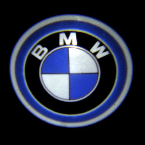 Image of SwitchCarParts 2Pcs BMW Car Decoration Projection Logo Step Laser Shadow Welcome LED Light