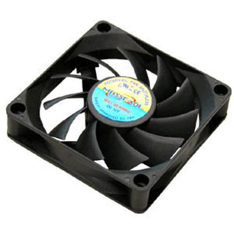 Image of Masscool Ball Bearing 70mm Case Fan w/ 3+4pin Connectors