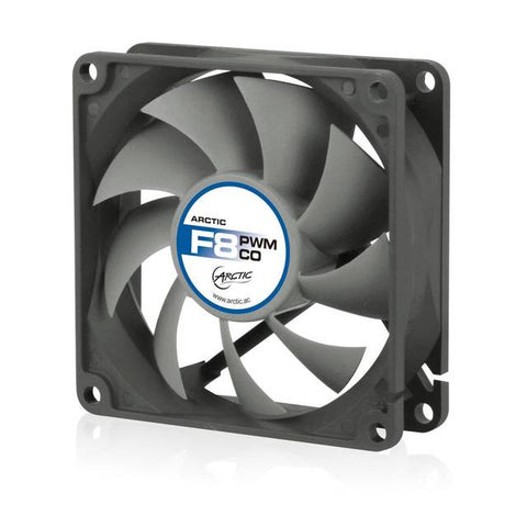 Arctic Cooling F8 PWM CO Continuous Operation 80mm Case Fan