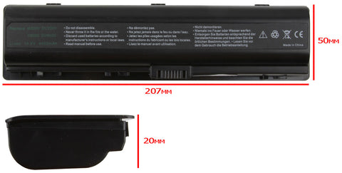 Image of Replacement Laptop Battery for HP Pavilion DV2200 / DV6000