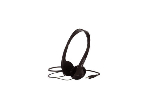 Koss TM-602 Headphone - Stereo - Black