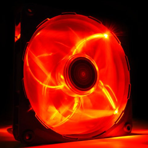 Image of NZXT RF-FZ120-R1 FZ-120mm LED Airflow Case Fan Series - Red