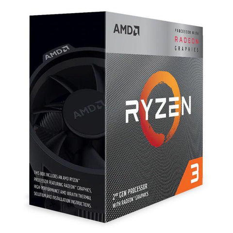 AMD YD3200C5FHBOX Ryzen 3 3200G Processor with Wraith Stealth cooler