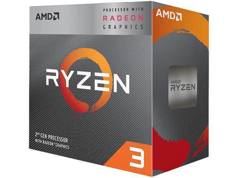 Image of AMD YD3200C5FHBOX Ryzen 3 3200G Processor with Wraith Stealth cooler