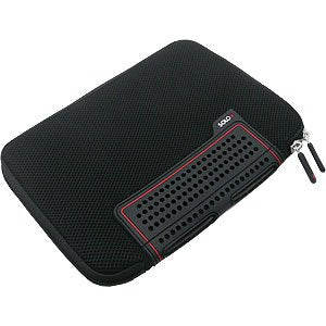 "Image of Solo 10.2"" TCB108-4 Always-On Airmesh Neoprene Laptop Sleeve (BLACK)"