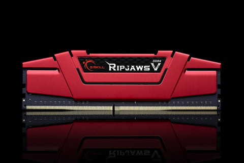 G.SKILL Ripjaws V Series 16GB (2 x 8GB) 288-Pin DDR4 2666 PC4-21300 Desktop Memory F4-2666C15D-16GVR
