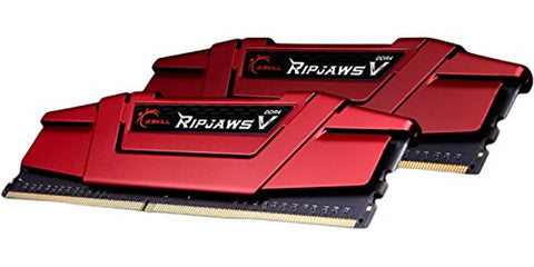 Image of G.SKILL Ripjaws V Series 16GB (2 x 8GB) 288-Pin DDR4 2666 PC4-21300 Desktop Memory F4-2666C15D-16GVR