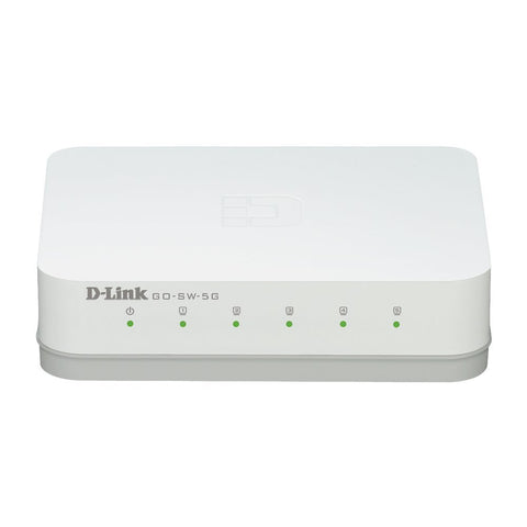 Image of D-Link GO-SW-5G 5-Port Gigabit Desktop Switch