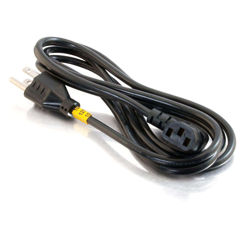 Image of C2G 03152 6 Foot 18AWG Universal Right Angle Computer Power Cable
