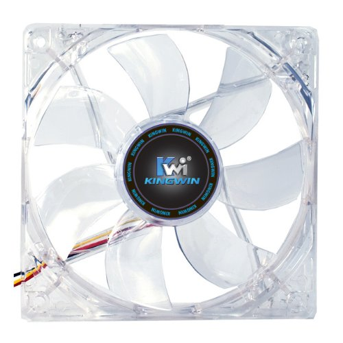 Kingwin CFGN-012LB Long Life 120mm Case Fan with Green LED