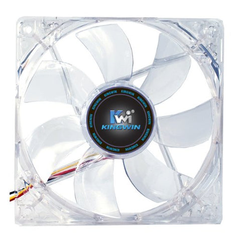 Image of Kingwin CFGN-012LB Long Life 120mm Case Fan with Green LED