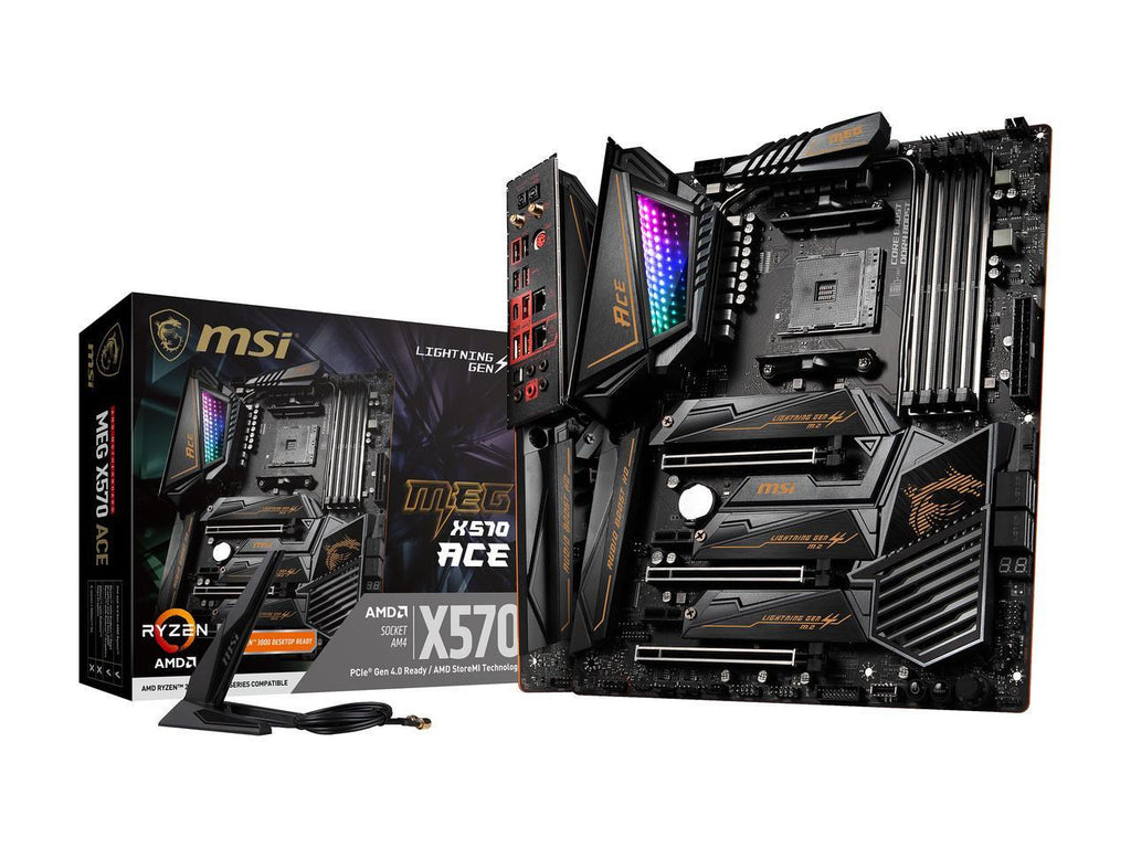 MSI MEG X570 ACE Socket AM4 Motherboard