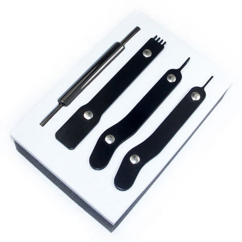 Image of BattleBorn PSU Modding Tool Kit 4 Piece Set ATX/ EPS/ PCI-E/ Molex/ SATA Full Pin Removal Tool Kit