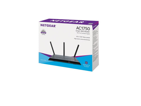 NETGEAR R6400 AC1750 Dual Band Gigabit Wireless 802.11ac Router