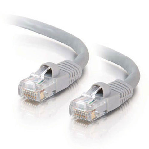 Image of C2G 10-feet Male RJ45 Cat5e Network Cable (Grey)