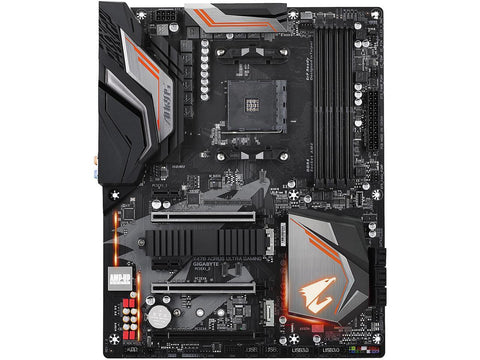 Gigabyte X470 AORUS Ultra Gaming AM4 AMD X470 SATA 6Gb/s USB 3.1 HDMI ATX AMD Motherboard