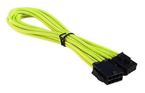 Image of BattleBorn Yellow Braided 8 Pin EPS Power Extension Cable