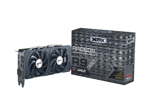 Xfx Double Dissipation R9 380 990Mhz Xxx Oc 2Gb Ddr5 Displayport Hdmi Dual Dvi Graphics Cards R9-380