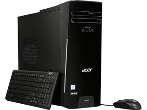 Acer Desktop Aspire TC-780-UR1A Intel Core i5 7400 (300 GHz) 8 GB DDR4 1 TB HDD Intel HD Graphics 630 Windows 10 Home REFURBISHED