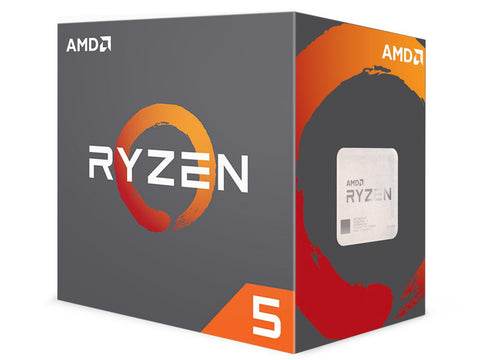 Image of AMD RYZEN 5 1600X 6-Core 3.6 GHz (4.0 GHz Turbo) Socket AM4 95W YD160XBCAEWOF Desktop Processor