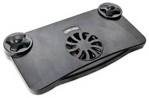 Syba USB or Battery Powered Laptop Cooling Pad (Black)