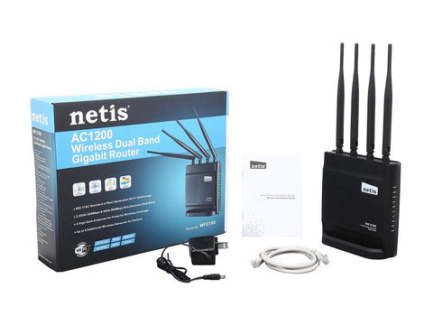 Netis WF2780 AC1200 Wireless Dual Band Gigabit Router