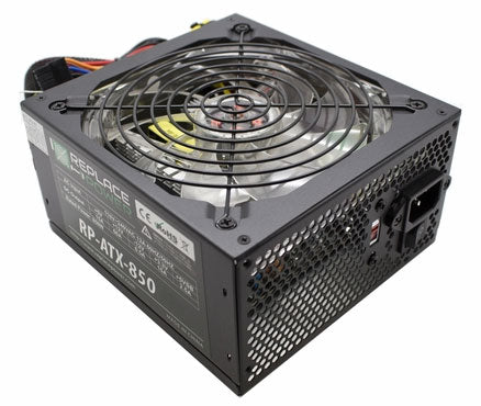 Image of ReplacePower 850W ATX Power Supply Red LED