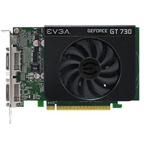 EVGA 01G-P3-2731-KR GeForce GT 730 Video Card 1GB DDR3 RAM