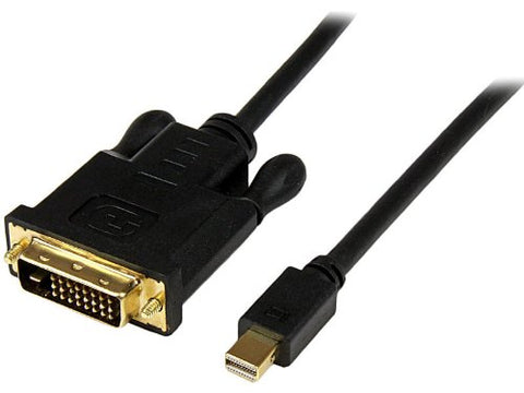 Startech.com MDP2DVIMM6B 6 Foot Mini DisplayPort DP to DVI