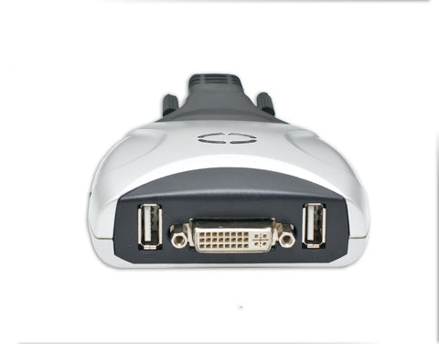 Image of Syba 2-Port KVM Switch with DVI, USB, 3.5mm Audio