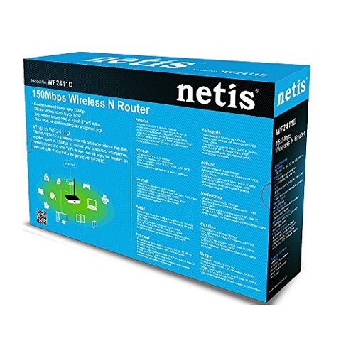 Netis WF2411 150Mbps Wireless-N AP Router with Repeater Function