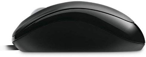 Microsoft 3-Button USB Wired Compact Optical Scroll Mouse 500 w/800 DPI (black)