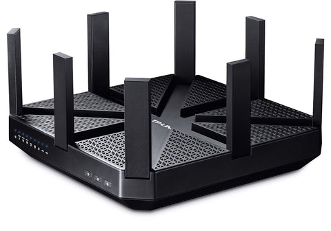 TP-Link Archer C5400 AC5400 Wireless MU-MIMO Tri-Band Router - Comprehensive Antivirus and Security, Works with Alexa and IFTTT