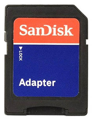 Image of SanDisk MicroSD to SD Memory Card Adapter