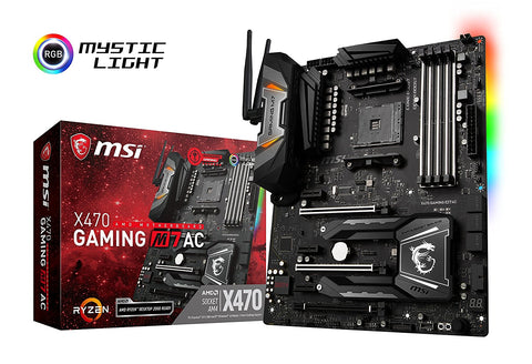 MSI X470 GAMING M7 AC ATX AM4 Motherboard