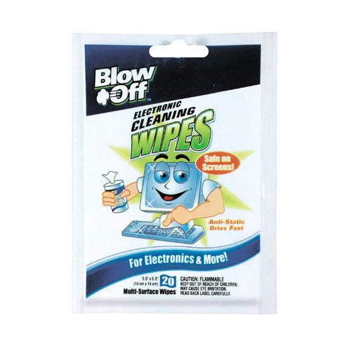 Max Professional WPB20-2620 Blow Off 20-Pack Screen Cleaning Wipes