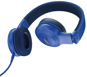 JBL E35 On Ear Signature Headphones With Mic - Blue