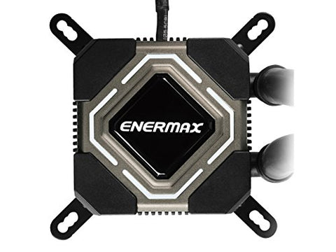 Image of Enermax ELC-LMR120S-BS Liqmax II 120s / Liquid CPU Cooler 25mm Fan/ INTEL/AMD with AM4 Support