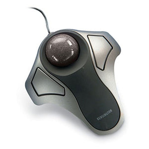 Kensington 64327 Wired USB/PS2 Orbit Optical Trackball Mouse - Silver