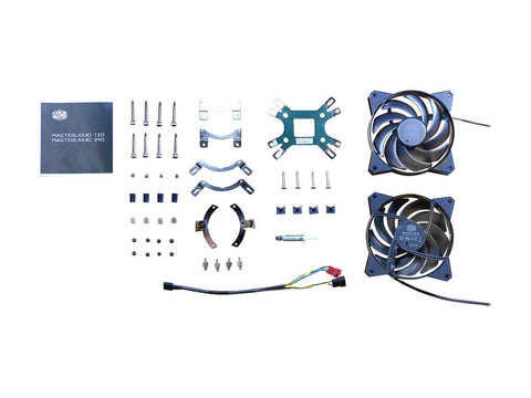 Image of Masterliquid 120 All-In-One Cpu Liquid Cooler With Dual Chamber Pump, CPU Cooler MLX-D12M-A20PW-R1