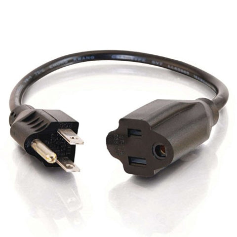 C2G 03117 15 Foot Power Extension Cable - 18AWG