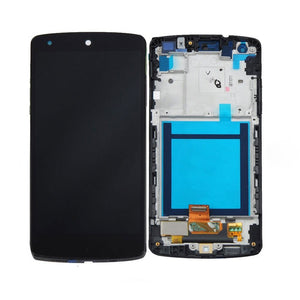 Replacement LCD & Touch Screen Digitizer Assembly for Nexus 5 D821 D820 w/ Frame