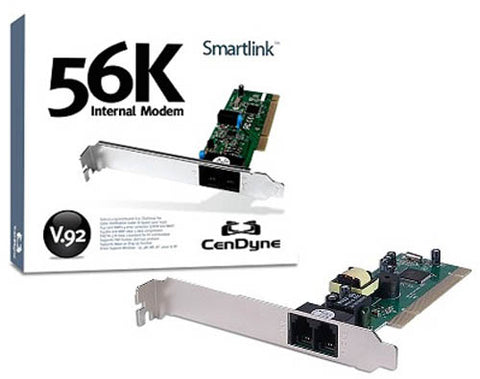 Image of Cendyne SmartLink SL2801 56.6K V.92 Internet Dial-Up PCI Modem