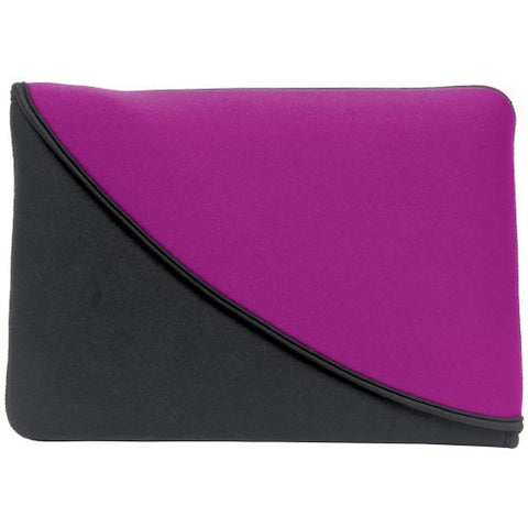 "PC Treasures 07104 Reversible Neoprene 10"" Purple Netbook Sleeve"