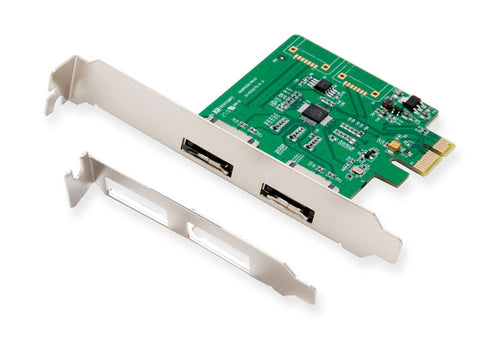 Image of Syba SI-PEX40076 PCI Express x1 eSATA 6Gb/s Controller Card