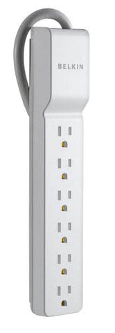 Image of Belkin Home Series 6-Port Surge Protector - BE106000-2.5