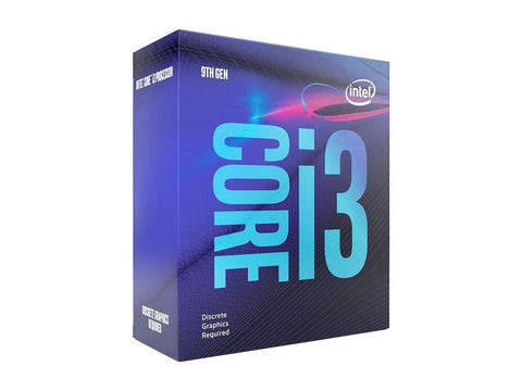 Intel Core i3-9100F Coffee Lake 4-Core 36 GHz (4.2 GHz Turbo) LGA 1151 65W BX80684i39100F Desktop Processor Without Graphics