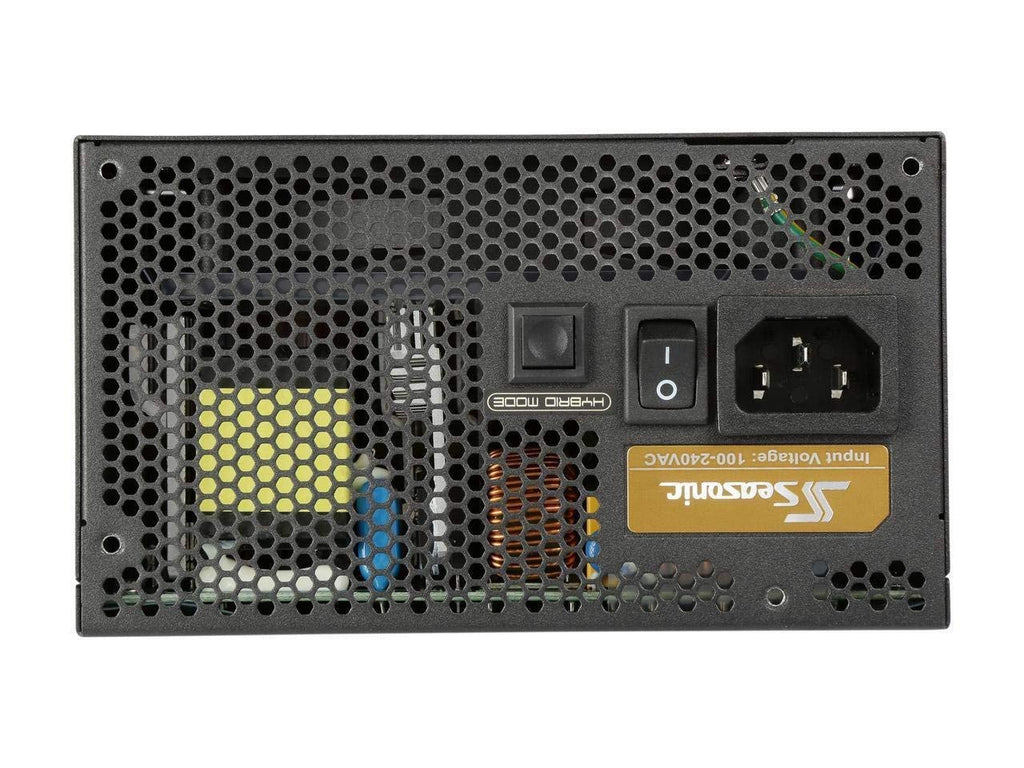 Seasonic FOCUS Plus Series SSR-750FX 750W 80+ Gold ATX12V & EPS12V Full Modular 120mm FDB Fan Compact 140mm Size Power Supply