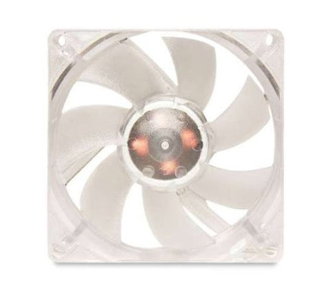 Silenx EFX-08-15R Effizio 80x25mm 15dBA 32CFM Red LED Fan