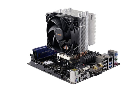 be quiet! PURE ROCK SLIM CPU Cooler 120W TDP - BK008